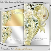 Gold & Silver Anniversary Card Fronts