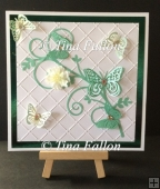 Butterfly Twirl - Topper - multi cutting file formats