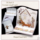 Oh Dach It Easel Card