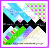 Winter is for Christmas Patterned papers