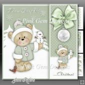 Beary Nice Christmas 3 Mini Kit