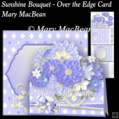 Sunshine Bouquet - Over the Edge Card and Envelope