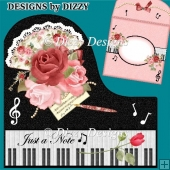 Music Fan Piano Card