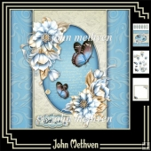 Tales of Winter 8x8 Decoupage Mini Kit