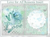 Lovef for All Reasons Insert