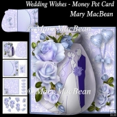 Wedding Wishes - Money Pot Card