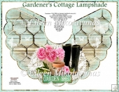 Cottage Chic Gardener's Cottage Lampshade Kit