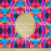 Printable Paper Bead Sheet FREE SAMPLE