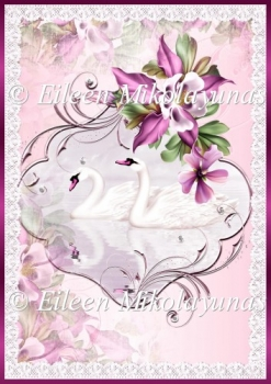 Together Romance Backing Background Paper