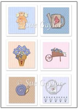Spring - Summer Card Toppers