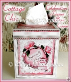 Cottage Chic Celebration KLEENEX Tissue Box Cover Project