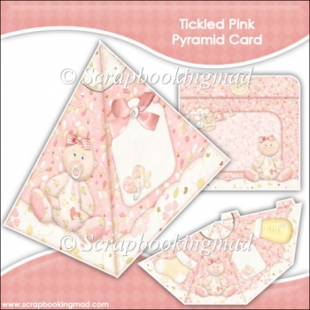 Tickled Pink Pyramid Card