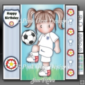 England Football Team Chloe Mini Kit With Ages 3 to 7