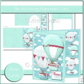 Up & Away Asymmetric Card