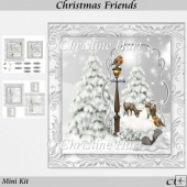 Christmas Friends Mini Kit