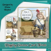 Digging Gnome Card Front