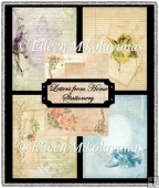 Letters from Home Stationery Background Papers Set