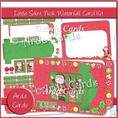 Little Saint Nick Waterfall Card Kit
