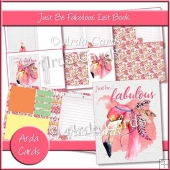 Just Be Fabulous List Book