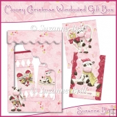 Mooey Christmas Windowed Gift Box