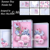 Summer Posy - Notelet Set