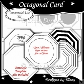 Octagonal Card Template
