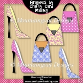 Shoes N Bags - Clip Art