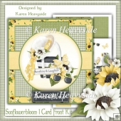 Sunflowerbloom 1 Card Front Kit