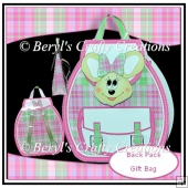 Back Pack Gift Bag - Minxie Mouse