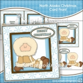 North Alaska Christmas Card Front