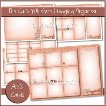 The Cat's Whiskers Hanging Organiser