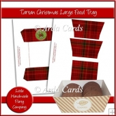 Tartan Christmas Large Food Tray