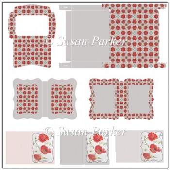 Poppy Notelet Set