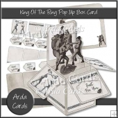 King Of The Ring Pop Up Box Card