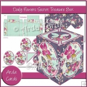 Daily Flowers Secret Treasure Box