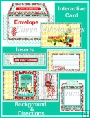 Look What's Cooking Interactive Coin Envelope Flip Card Set