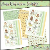 Baby Boy Green Craft Kit