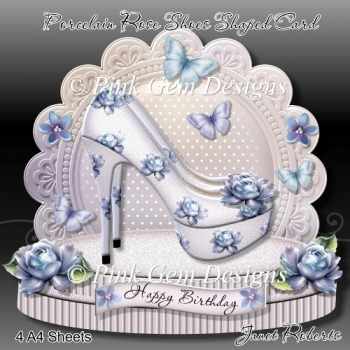 Porcelain Rose Shoes Mini Kit