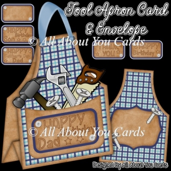 Tool Apron Card & Envelope