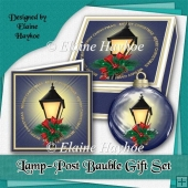 Lamp-post Bauble Gift Set