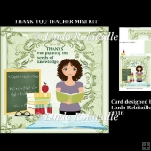 Thank You Teacher Mini Kit