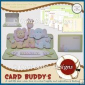 Stuffed with Love Over The Top Easel Card Kit