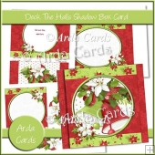 Deck The Halls Shadow Box Card