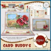 Poppy Meadow Easel Card Kit