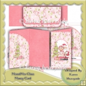 Mr and Mrs Claus Money Card
