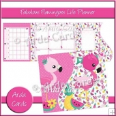 Fabulous Flamingoes Life Planner