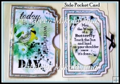 Bird Song Side Opening Pocket Card Set