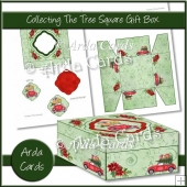Collecting The Tree Square Gift Box