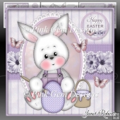 Lilac Easter Bunny Mini Kit
