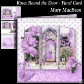 Roses Round the Door - Panel Card
